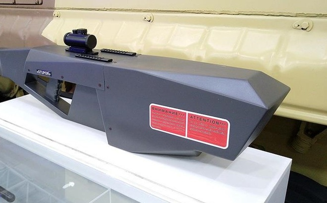 Nga phát triển súng điện từ hạ gục máy bay không người lái