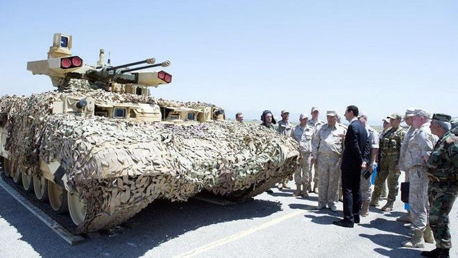 Nga tính toán gì khi đưa phiên bản BMPT lạ tới Syria? - Ảnh 1.