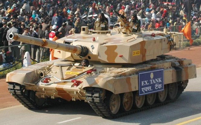 Ấn Độ và 'canh bạc tất tay' với xe tăng nặng nhất thế giới Arjun