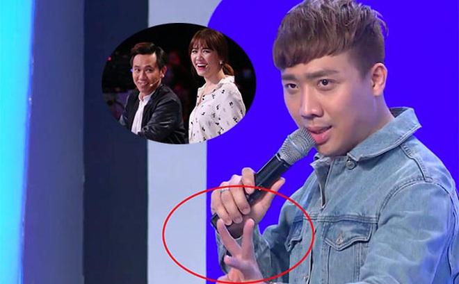 """Nghi vấn Trấn Thành để lộ đáp án, giúp Hari Won thắng show """"Người bí ẩn"""""""