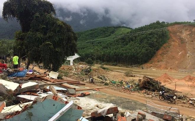 Quảng Nam: Thêm 2 vụ sạt núi vùi lấp 15 người trong 5 gia đình tại huyện miền núi Nam Trà My