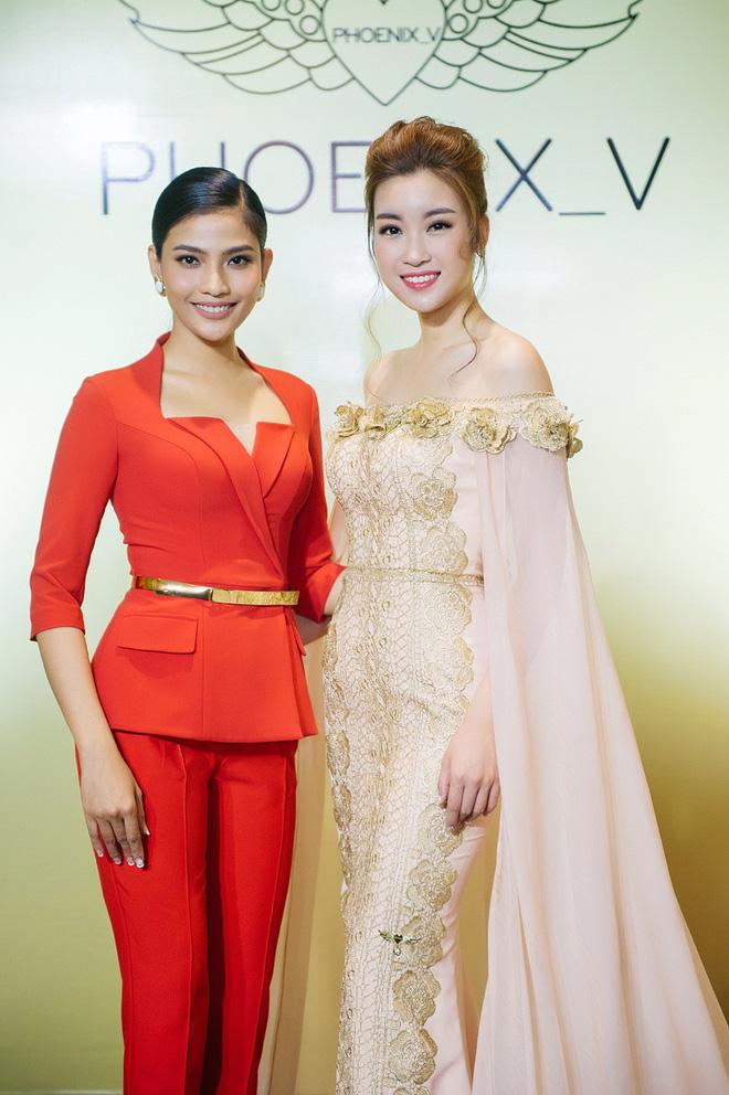 Hoa hậu Mỹ Linh sang Campuchia để ủng hộ Vũ Thu Phương - Ảnh 8.