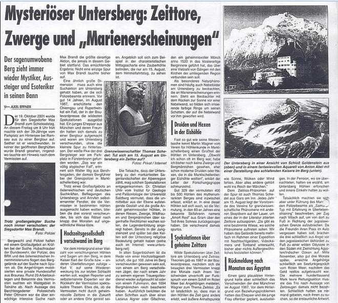 Bí ẩn vụ mất tích phá vỡ quy luật vật lý ở dãy núi ám lời nguyền Untersberg - Ảnh 6.