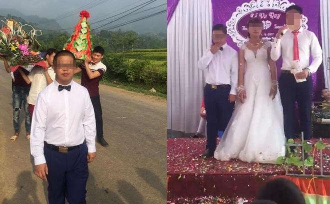Chú rể trong đám cưới với thiếu nữ 15 tuổi tại Sơn La ra trình diện chính quyền