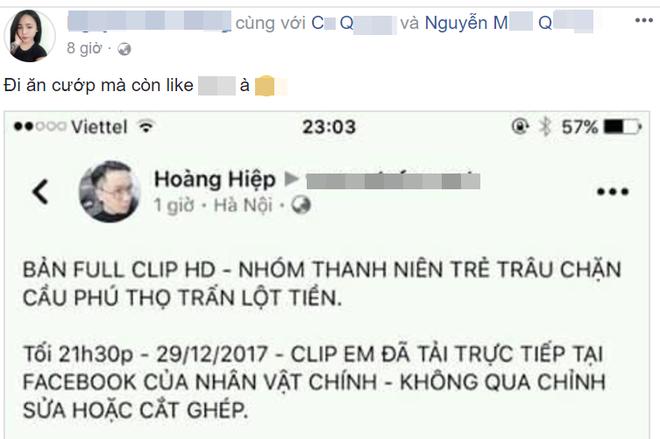 Tài khoản phát livestream vụ chặn đường xin tiền ngập tràn bình luận bất bình của bạn bè - Ảnh 3.