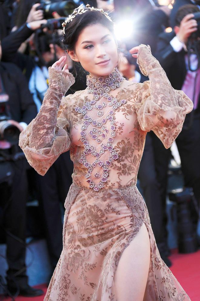 Ngọc Thanh Tâm mặc gợi cảm, đọ sắc cùng dàn sao Hollywood tại Cannes 2017 - Ảnh 5.