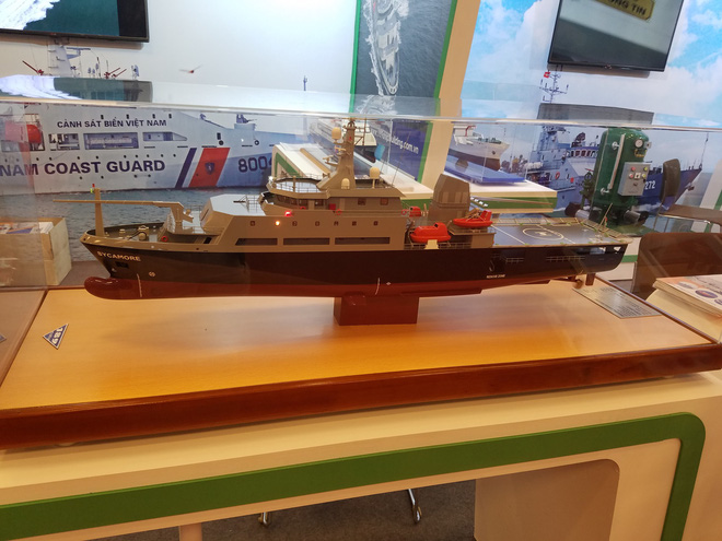 Ấn tượng Vietship 2018: Công nghiệp quốc phòng VN giới thiệu các mẫu tàu quân sự hiện đại - Ảnh 3.