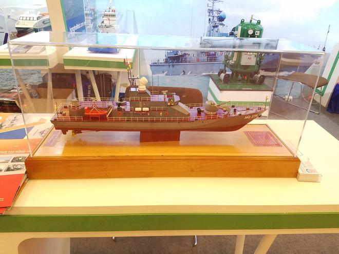 Ấn tượng Vietship 2018: Công nghiệp quốc phòng VN giới thiệu các mẫu tàu quân sự hiện đại - Ảnh 4.