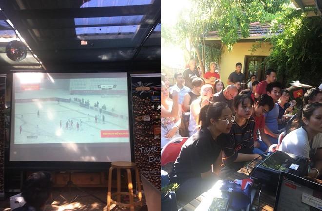 Nhìn lại khoảnh khắc người Việt khắp thế giới dõi theo trận cầu lịch sử của U23 Việt Nam - Ảnh 9.