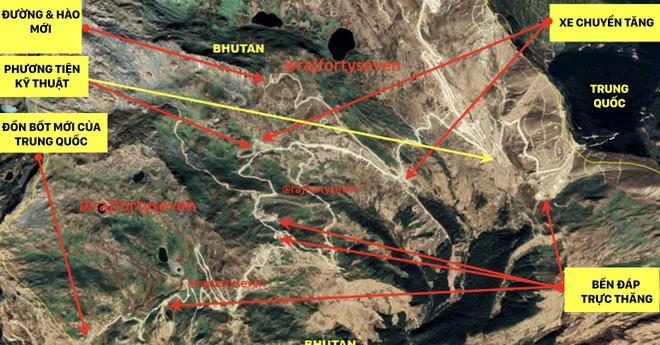 Trung Quốc xây đồn bốt cách hào Ấn Độ chưa đầy 10m: Doklam sắp xung đột lớn? - Ảnh 1.