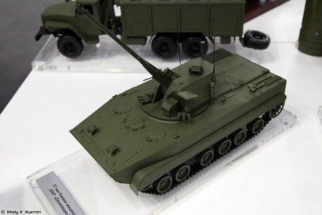 Lộ diện tổ hợp pháo tự hành 2S38 mới và độc đáo nhất của Nga - Ảnh 1.