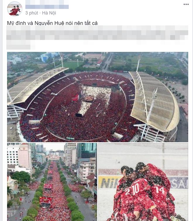 CĐV lên mạng chia sẻ những chuyện dở khóc dở cười sau trận chung kết của U23 Việt Nam - Ảnh 5.