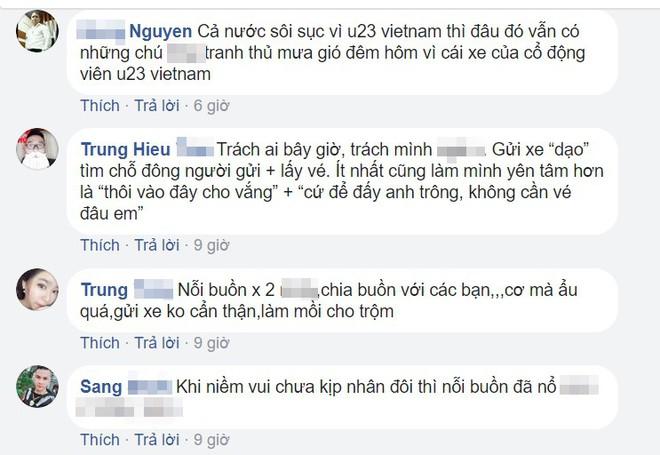 CĐV lên mạng chia sẻ những chuyện dở khóc dở cười sau trận chung kết của U23 Việt Nam - Ảnh 4.