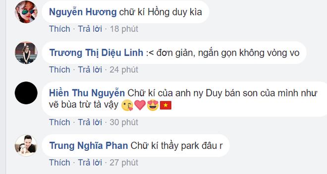 Loạt chữ ký của U23 Việt Nam khiến dân mạng bàn tán sôi nổi - Ảnh 3.