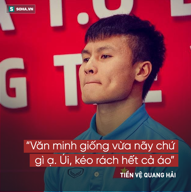 Các cầu thủ U23 Việt Nam và 14 câu nói khiến người hâm mộ xôn xao  - Ảnh 4.