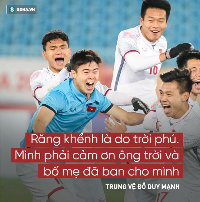 Các cầu thủ U23 Việt Nam và 14 câu nói khiến người hâm mộ xôn xao  - Ảnh 7.