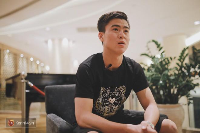Hot boy Duy Mạnh U23: Trong đội chỉ có mình với Hồng Duy bán hàng online, nhưng thật ra là... đăng hộ bạn gái đấy! - Ảnh 6.