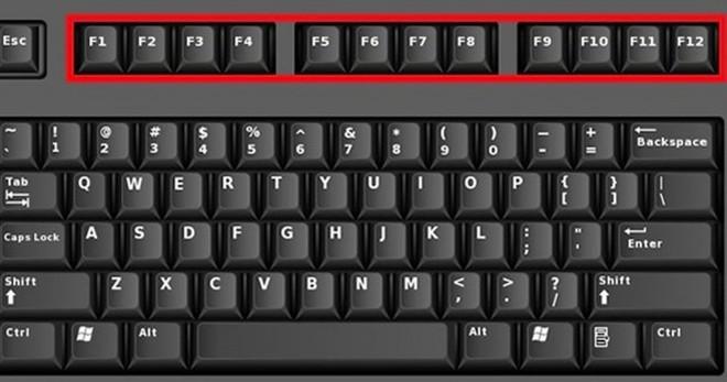 Dùng máy tính mỗi ngày nhưng bạn đã biết hết tác dụng của phím F1 tới F12 trên bàn phím chưa? - Ảnh 1.