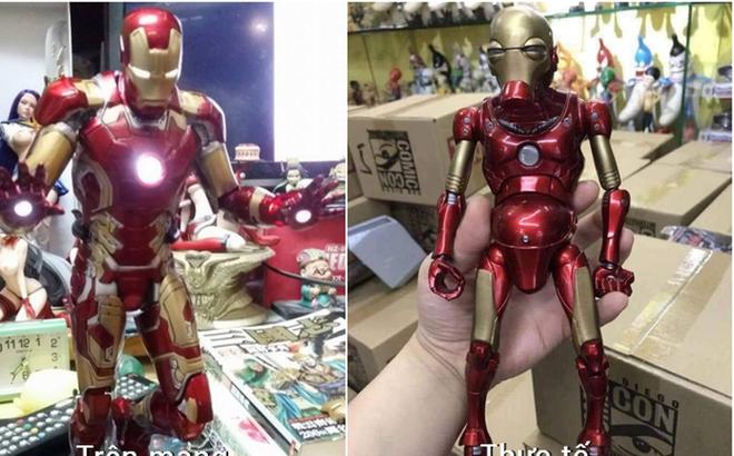Đặt mua mô hình Iron Man trên mạng, thanh niên cay đắng nhận về chú Người sắt bị suy dinh dưỡng nặng