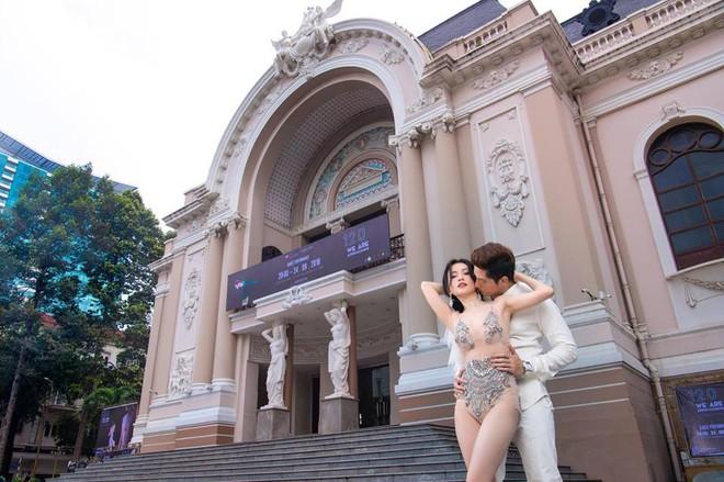 Ảnh cưới sexy giữa phố của Sĩ Thanh bị ném đá là thiếu tôn trọng bản thân - Ảnh 5.