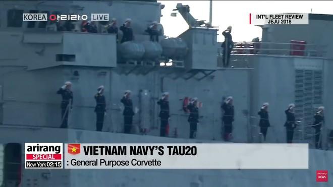 Tư lệnh HQVN và Tổng thống Hàn Quốc tại Lễ duyệt binh tàu chiến quốc tế: VN có tàu mới - Ảnh 5.