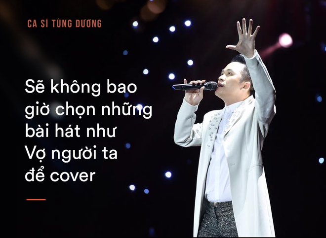 Tùng Dương: Bắt tôi chọn sống hoặc chết thì tôi mới hát Ngắm hoa lệ rơi - Ảnh 5.