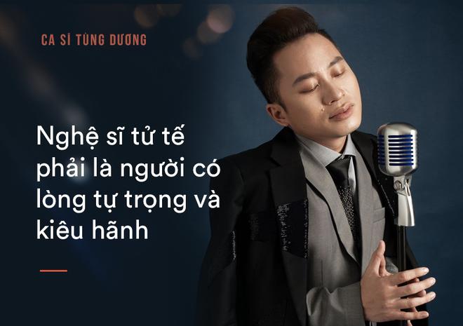 Tùng Dương: Bắt tôi chọn sống hoặc chết thì tôi mới hát Ngắm hoa lệ rơi - Ảnh 8.