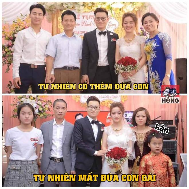 Biểu cảm trái ngược của 2 họ và chuyện cô dâu nào cũng hiểu nhưng không nói vào ngày cưới - Ảnh 1.