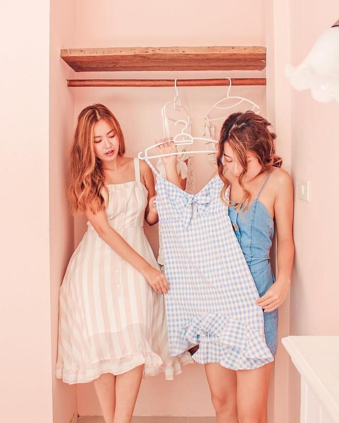 Cặp chị em nổi tiếng Singapore nhờ mặc đẹp, suốt ngày khoe ảnh vi vu du lịch - Ảnh 3.