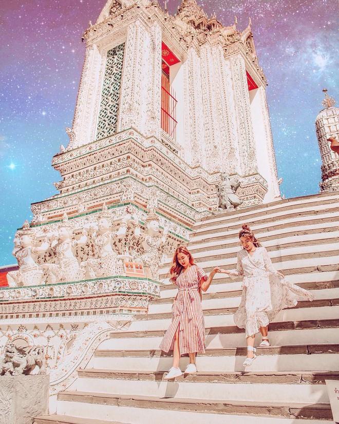 Cặp chị em nổi tiếng Singapore nhờ mặc đẹp, suốt ngày khoe ảnh vi vu du lịch - Ảnh 4.
