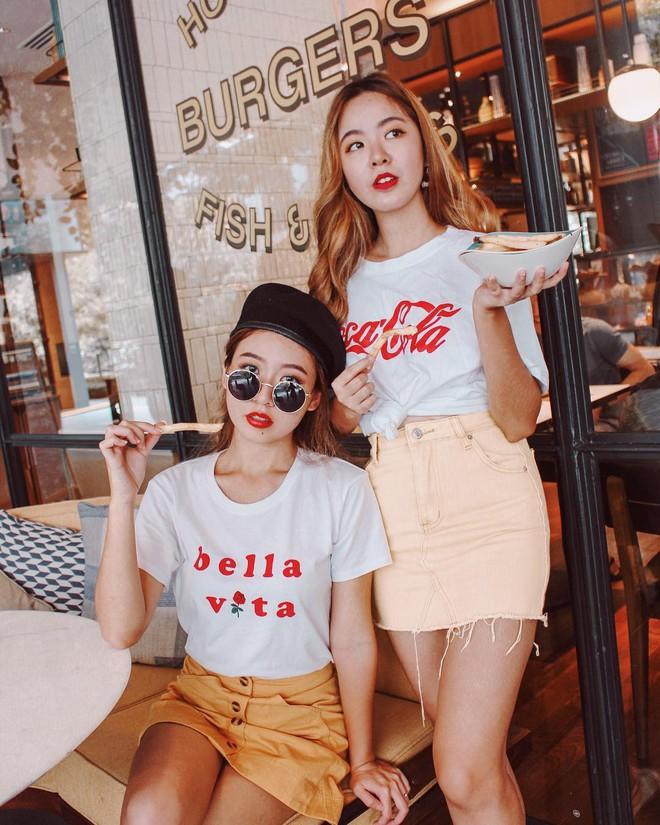 Cặp chị em nổi tiếng Singapore nhờ mặc đẹp, suốt ngày khoe ảnh vi vu du lịch - Ảnh 6.
