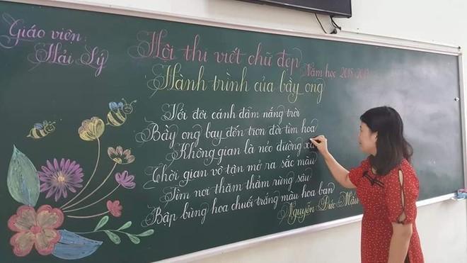 Khi giáo viên tiểu học đi thi viết chữ đẹp: Không máy in hay font chữ xịn sò nào có thể sánh ngang với bàn tay cô giáo! - Ảnh 11.