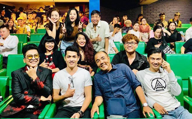 Việt Hương, Thanh Bạch, Đại Nghĩa hội tụ tại sân khấu Minh Nhí