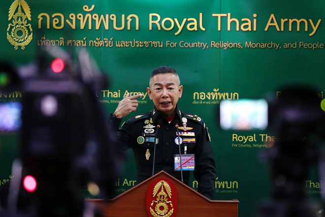 Tổng Tư lệnh Thái Lan: Không can thiệp nếu chính trị ổn định - Ảnh 1.