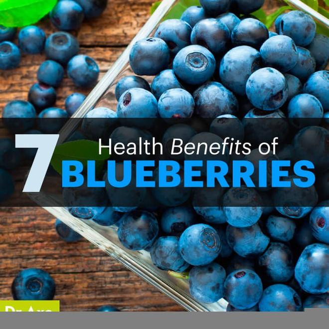 7 lợi ích của quả việt quất đối với sức khỏe - Ảnh 1.