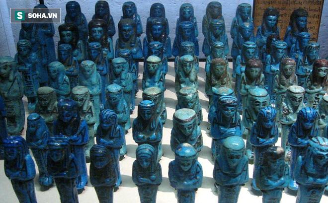 Cách đây 4000 năm, người Ai Cập xây lăng mộ luôn phủ màu xanh lên: Vì sao vậy?