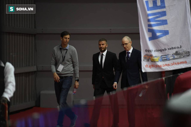 David Beckham chính thức xuất hiện, chuẩn bị cho lễ ra mắt xe hơi VINFAST - Ảnh 3.