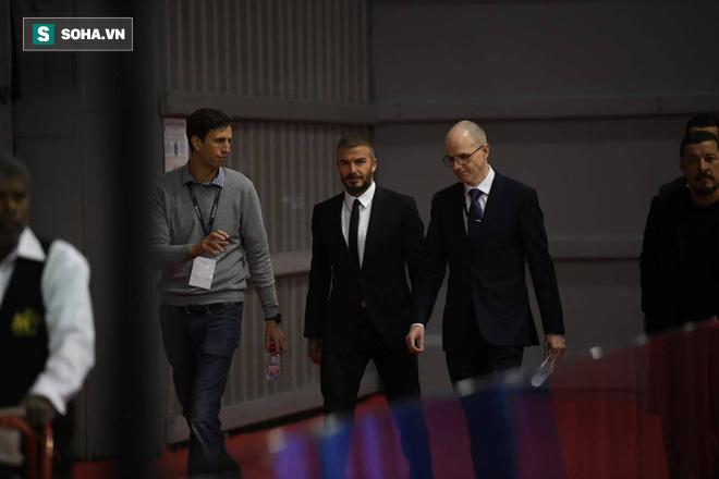 David Beckham chính thức xuất hiện, chuẩn bị cho lễ ra mắt xe hơi VINFAST - Ảnh 4.