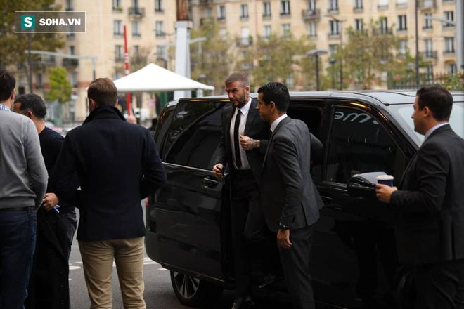 David Beckham chính thức xuất hiện, chuẩn bị cho lễ ra mắt xe hơi VINFAST - Ảnh 1.