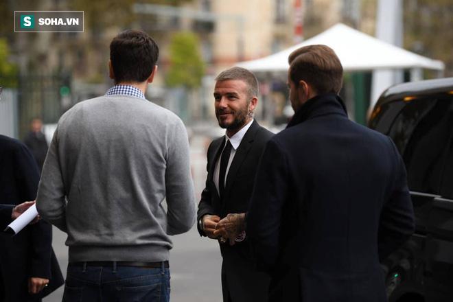 David Beckham chính thức xuất hiện, chuẩn bị cho lễ ra mắt xe hơi VINFAST - Ảnh 2.