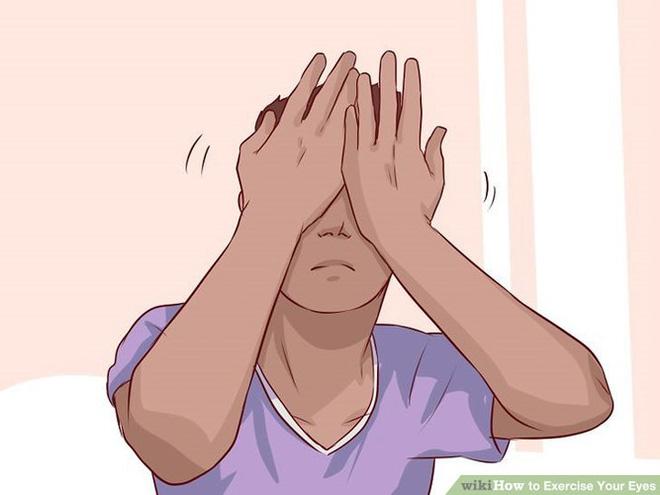 9 bài tập cho mắt giúp tăng cường thị lực - Ảnh 2.