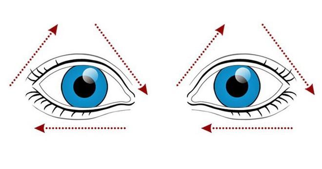 9 bài tập cho mắt giúp tăng cường thị lực - Ảnh 3.