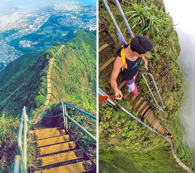 16 cầu thang đáng sợ nhất trên thế giới mà ai nhìn thấy cũng phải bủn rủn chân tay - Ảnh 4.