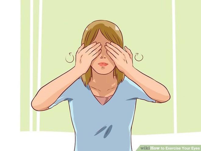 9 bài tập cho mắt giúp tăng cường thị lực - Ảnh 5.