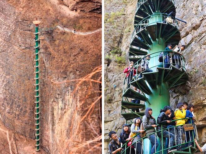 16 cầu thang đáng sợ nhất trên thế giới mà ai nhìn thấy cũng phải bủn rủn chân tay - Ảnh 6.