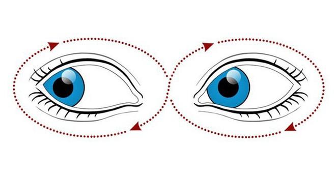 9 bài tập cho mắt giúp tăng cường thị lực - Ảnh 6.