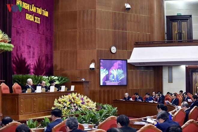 Toàn cảnh khai mạc Hội nghị Trung ương 8 Khóa XII - Ảnh 9.