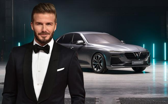 David Beckham là khách mời đặc biệt của sự kiện ra mắt xe VINFAST tại Pháp
