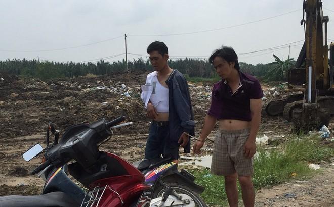 Người truy đuổi lao thẳng xe vào kẻ nghiện trộm bình ắc quy ở vùng ven Sài Gòn