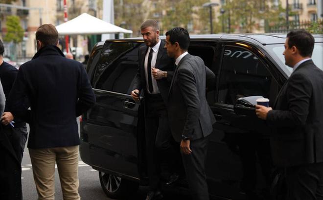 David Beckham chính thức xuất hiện, chuẩn bị cho lễ ra mắt xe hơi VINFAST